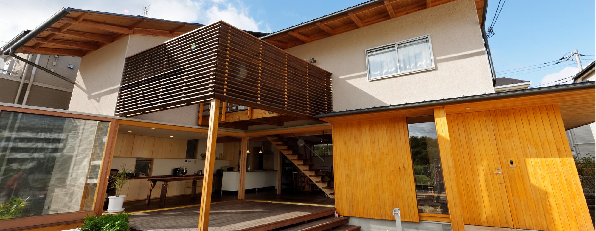 四季の風と暮らす家